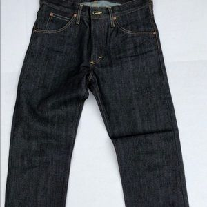 NEW Lee 101 Selvedge Jeans SLIM Jeans 32W Japan De